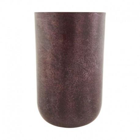 vase en metal acier couleur aubergine house doctor style Sp0725