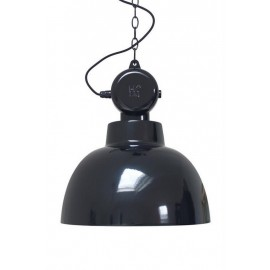 grande suspension industrielle metal noir brillant hk living factory L VAA4002